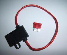 14 Gauge Ga AWG ATC In-Line Fuse Holder w/Free Fuse! Car Audio Alarm Electronics