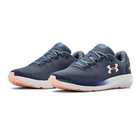 Under Armour Womens Charged Pursuit 2 Running Shoes Trainers Sneakers Blue