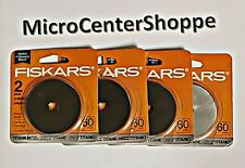 8 Rotary Cutter Blade Refills 60mm Qty of 4 pkgs. (2/Package) Brand New