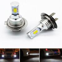 2x 35W H7 LED Headlights Bulbs Kit High/Low Beam 4000LM Super Bright 6000K White