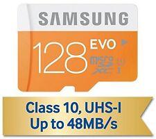 GENUINE SAMSUNG EVO 128GB CLASS 10 48MB/S MICRO SDXC SD MEMORY CARD