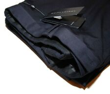 Polo Ralph Lauren Black Label Mens Flat Front Dress Pant Wool Italy Dark Navy 38