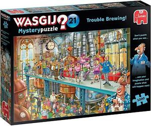 Wasgij Mystery 21 Trouble Brewing! Jigsaw Puzzle (1000 Pieces)
