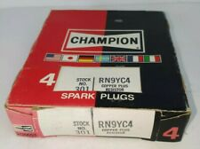 Lot of 4 301 RN9YC4 Champion Copper Spark Plugs New Old Stock