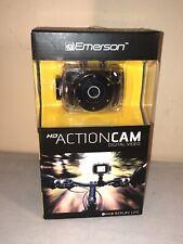 New In Box Emerson Go Action Cam 720p HD Digital Video Camera Pro Grade