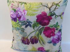 Designers Guild  floral 100% Cotton Fabric Tulipani Linen Cushion Cover