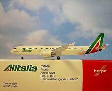 Herpa Wings 1:500  Airbus A321  Alitalia EI-IXH  533959  Modellairport 500