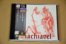 CD Machiavel Jester Harvest 1977 SHM-CD Japon Japan Audiophile