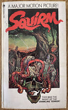 Squirm 1976 Richard Curtis 1st Printing Paperback Movie Tie-in Novel Good+ Cond.