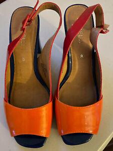 Corelli shoes Howie design Size 8: Red, Orange & Blue Shoes