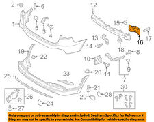 NEW GENUINE Rear Bumper Cover Lower Mounting Bracket OEM For 09-12 Kia Sorento