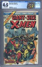 Giant Size X-Men #1 CGC 4.5 Great Looking Mid Book 1st New X-Men Storm Colossus