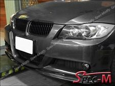 Carbon Fiber 3D Style Front Bumper Lip Fit BMW 2005-2008 E90 335i M Tech Bumper