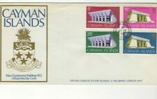 1972 CAYMAN ISLANDS - NEW GOVERNMENT BUILDINGS FDC FROM COLLECTION G17