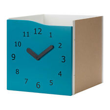TOY CLOCK IKEA ALLAX Insert with door, decoration clock available in 3 colours