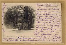 Cpa Versailles - parc de Trianon la tour de Malborough et pont rustique rp0659