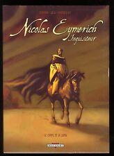 NICOLAS EYMERICH, INQUISITEUR JAQUETTE T.3 & 4  ZENTNER / SALA / EVANGELISTI