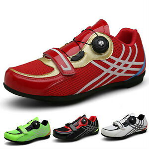 Professional Men Nonslip Road Cycling Sneakers Outdoor Bicycle Riding Bike Shoes