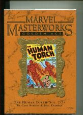 MARVEL MASTERWORKS 51 GOLDEN AGE HUMAN TORCH BURGOS DELUXE COVER VARIANT NM