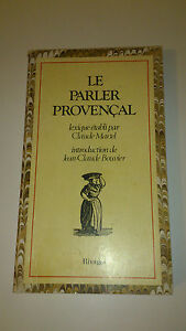 Parler provençal - Collectif