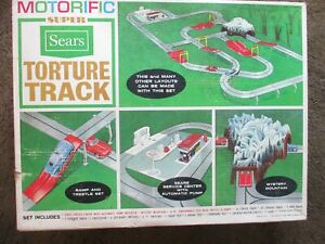 Sears Ideal Motorific Torture Track 1965