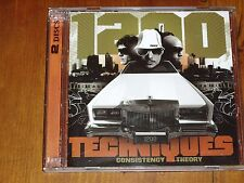 1200 TECHNIQUES *RARE 2 x CD / DVD SET ' CONSISTENCY THEORY ' 2003 EXC