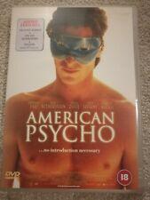 American Psycho - Christian Bale - DVD. 2000 release. Region 2. + Deleted Scenes