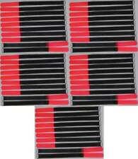 50x Klettkabelbinder Öse 300 x 20 mm neonrot SO Kabelbinder Klettband Kabelklett