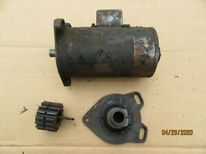 Original 1928 REO Generator with Gears and Housing