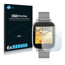 "6x Savvies Screen Protector for Asus ZenWatch 2 1.45"" Ultra Clear"
