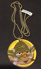 ANGRY BIRDS Star Wars YODA Dog Tag GOLD Variant CHASE! #23 RARE Tough To Find
