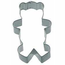 Teddy Bear Shaped Cookie Cutter- Biscuit Pastry Sandwich KitchenCraft 7.5.cm
