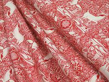 Weihnachtsstoff Blend fabrics I Love Christmas The Gathering red algodón 0,5m