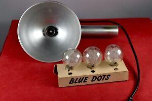 Vintage Box Camera Flash Model with Battery Power HANDLE + BULB PHOTO RARE