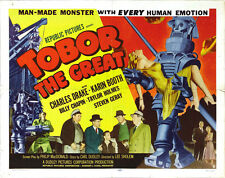 "Tobor the Great  Movie Poster Replica 11x14"" Photo Print"
