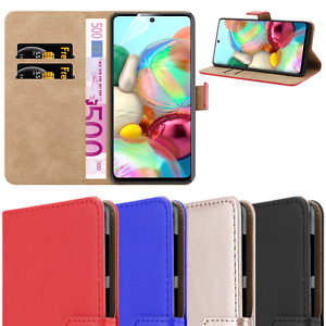 For Xiaomi Redmi Note 9 Case Genuine Real Luxury Leather Flip Wallet Cover