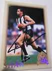 Collingwood - Tony Shaw signed AFL Hall of Fame Card + Photo Proof / COA