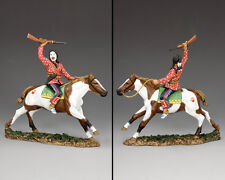 King and Country Il vero guerriero West LAKOTA SIOUX due lune trw101