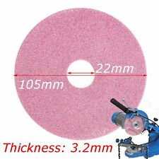 105x3.2mm Grinding Wheel Disc for Chainsaw Sharpener Grinder 325 & 3/8lp Chain