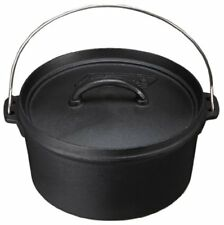 COLEMAN DUTCH OVEN 10 INCHES 170-9392 WITH TRACKING