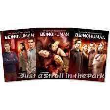 Being Human: US TV Series Complete Seasons 1 2 3 Box / DVD Set(s) NEW!