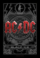 """Ac/Dc """"Black Ice"""" Fabric Poster Oversize 30""""X40"""" Poster New"""