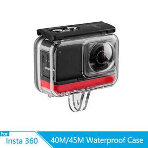 TELESIN 40M Wasserfeste H¨¹lle Underwater passt f¨¹r Insta360 ONE R F3 S9