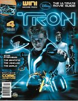 Tron Legacy Magazine Ultimate Movie Guide Star Interviews Weapons Vehicles World