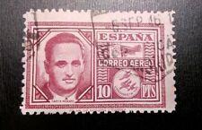SELLOS ESPAÑA USADO 1945 CORREO AÉREO. GARCÍA MORATO