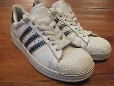 Adidas superstar blanco Zapatillas Size UK 9 EU 43