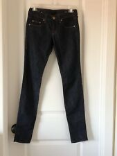 William Rast Skinny Jean Dark Denim Wash Size 24