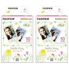 2 Packs 20 Photos Hello Kitty Fuji FujiFilm Instax Mini Film Polaroid 7S Liplay