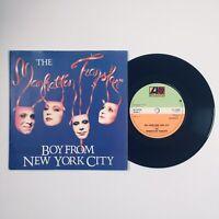 "The Manhattan Transfer - Boy From New York City (1981) 7"" Vinyl Record K 11585"
