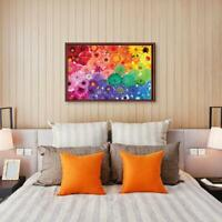 1000 PCS Rainbow Flowers Jigsaw Puzzles For Adults Kids Learning Education NEW